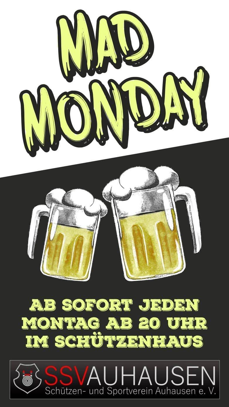 SSV Auhausen - MadMonday Flyer