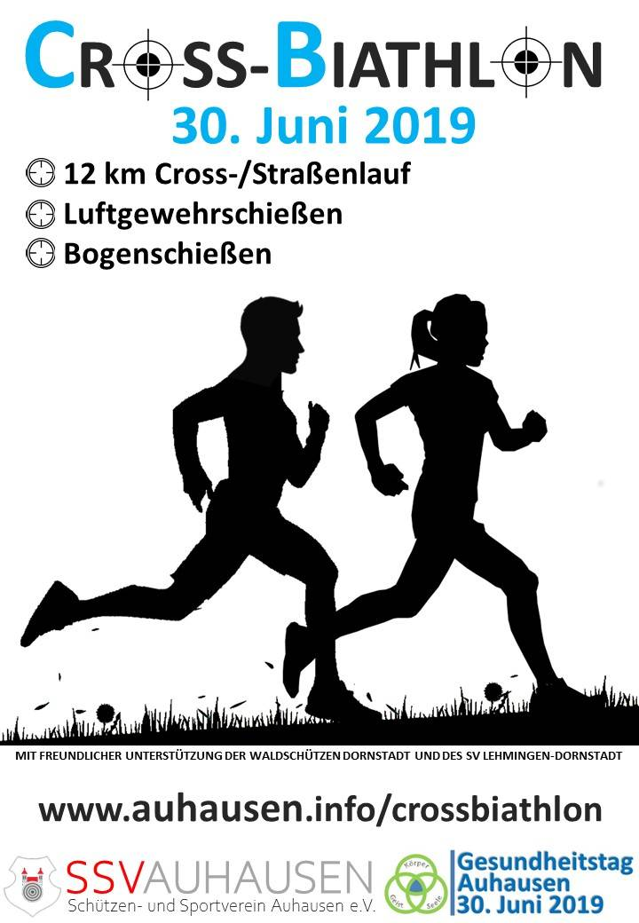 (c) SSV Auhausen - Cross-Biathlon Flyer
